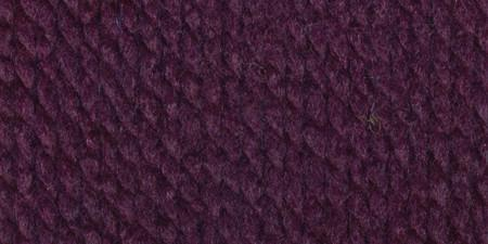 Lion Brand Wool-Ease Thick and Quick Yarn Eggplant