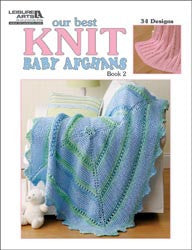Leisure Arts Our Best Knit Baby Afghans Book 2