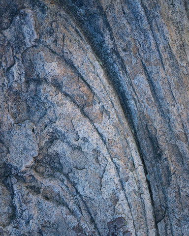 abstract photograph of rock