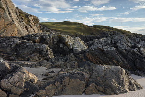 Achmelvich beach and coast in Sutherland, Scotland