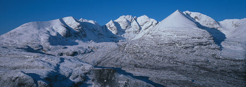 An Teallach mountain in winter, Dundonnell, Scotland
