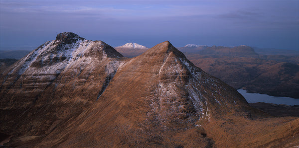 Assynt mountains from Quinag