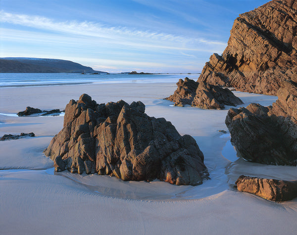 balnakeil bay near durness on the far north coast of scotland