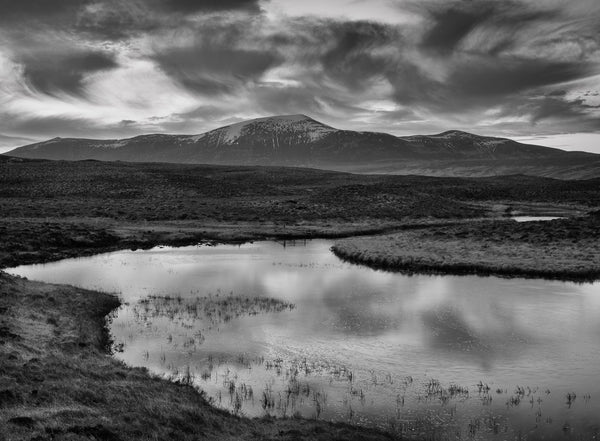 Ben Klibreck mountain in Sutherland Scotland