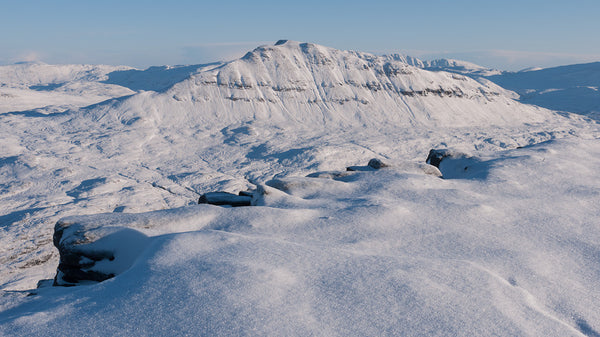 Canisp from Suilven Assynt