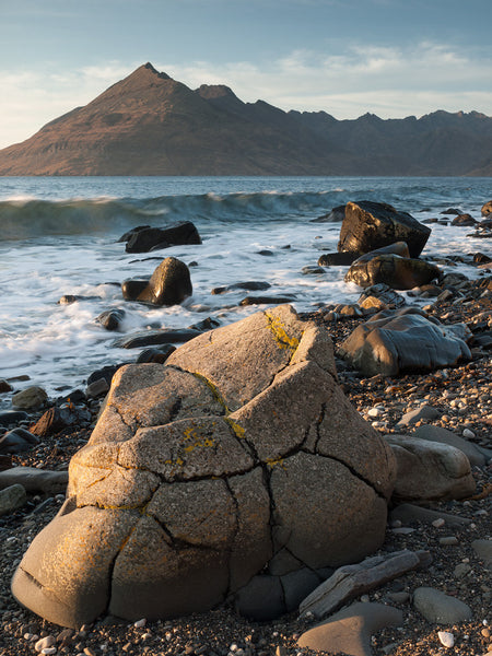 Cuillin Ridge from Elgol on the Isle of Skye