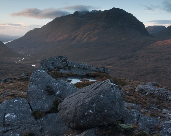 Liathach mountain in Torridon, Scotland