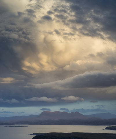 Quinag in Assynt from Stoer Point Sutherland