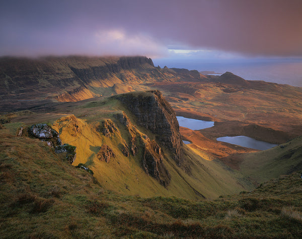 Quiraing and the trotternish ridge on the isle of skye