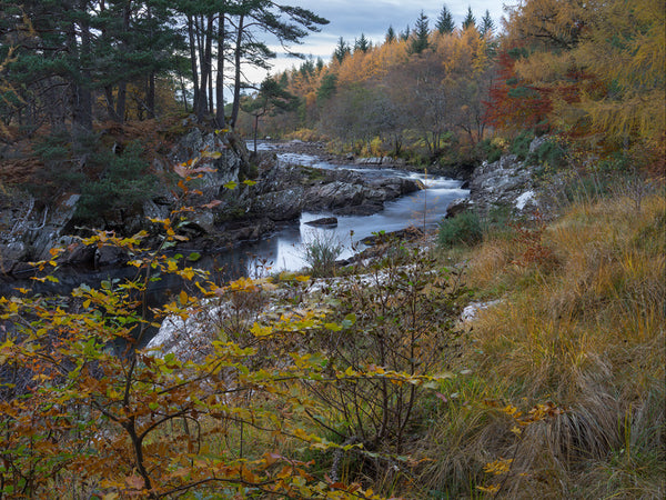 The River Cassley in Sutherland in autumn colours