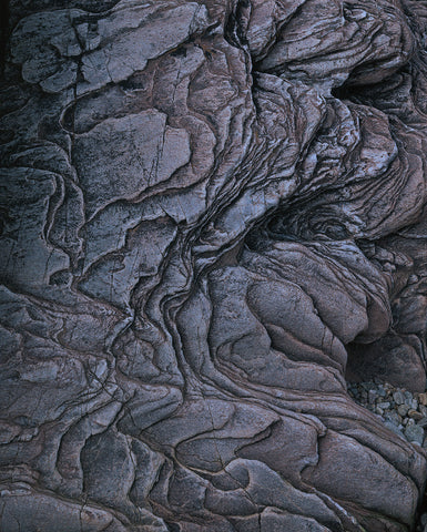 Rock abstract Skipness beach Argyll and Bute