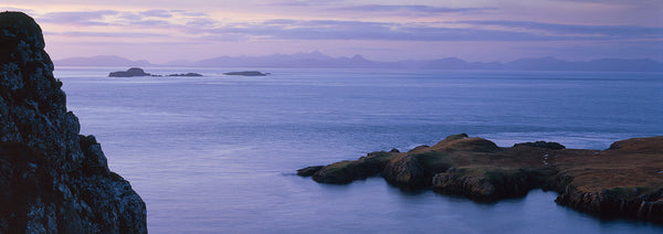 Rubha Hunish on the Isle of Skye and the Outer Hebrides