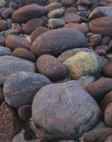 Boulders on Sheigra Bay Sutherland on the north-west coast of Scotland