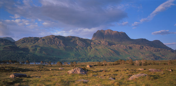 Slioch mountain in Torridon