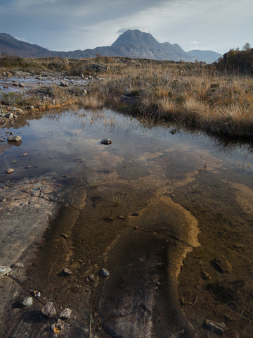 Slioch mountain in Torridon near Loch Maree