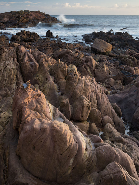 Coastline of Old Red Sandstone at Tarbat Ness in Easter Ross
