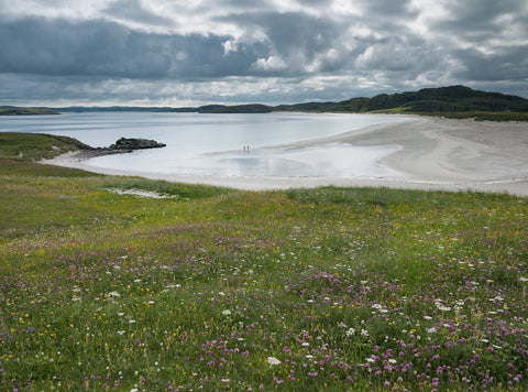 Traigh na Beirigh on the Isle of Lewis Outer Hebrides