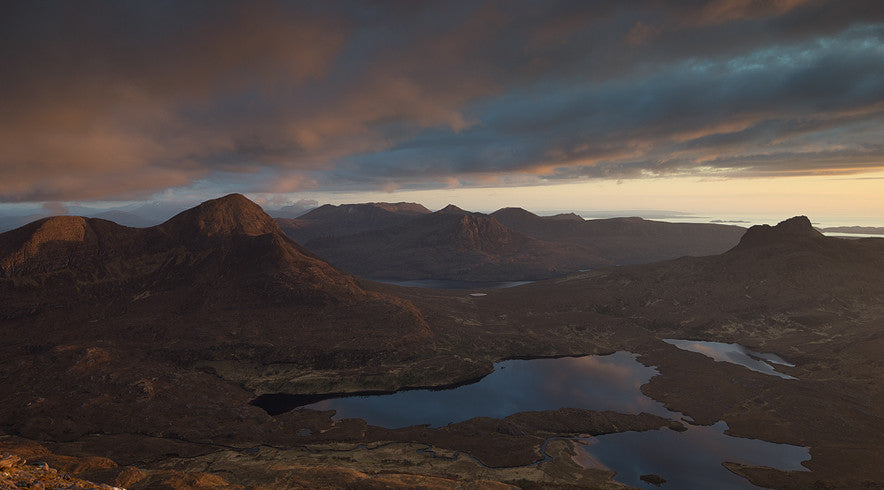 Inverpolly and Coigach from Cul Mor