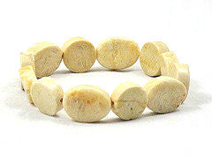 River Stone Stretch Bracelet - Brenna Stone Jewelry