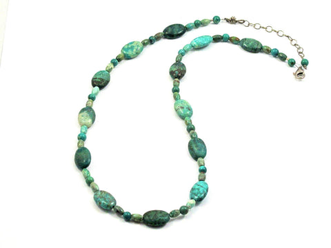 Classic Turquoise Necklace - Brenna Stone Jewelry