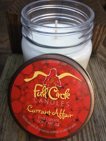 Red Currant Soy Candle