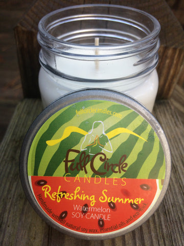 Watermelon Soy Candle