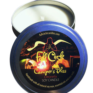 Citronella Candle | Camper's Bliss