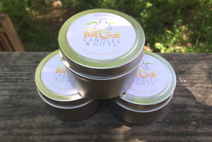 Set of 5 Citronella Soy Candles - For Camping and Outdoor Use!