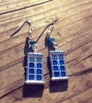 Dr. Who Inspired Gift Earrings Tardis Earrings