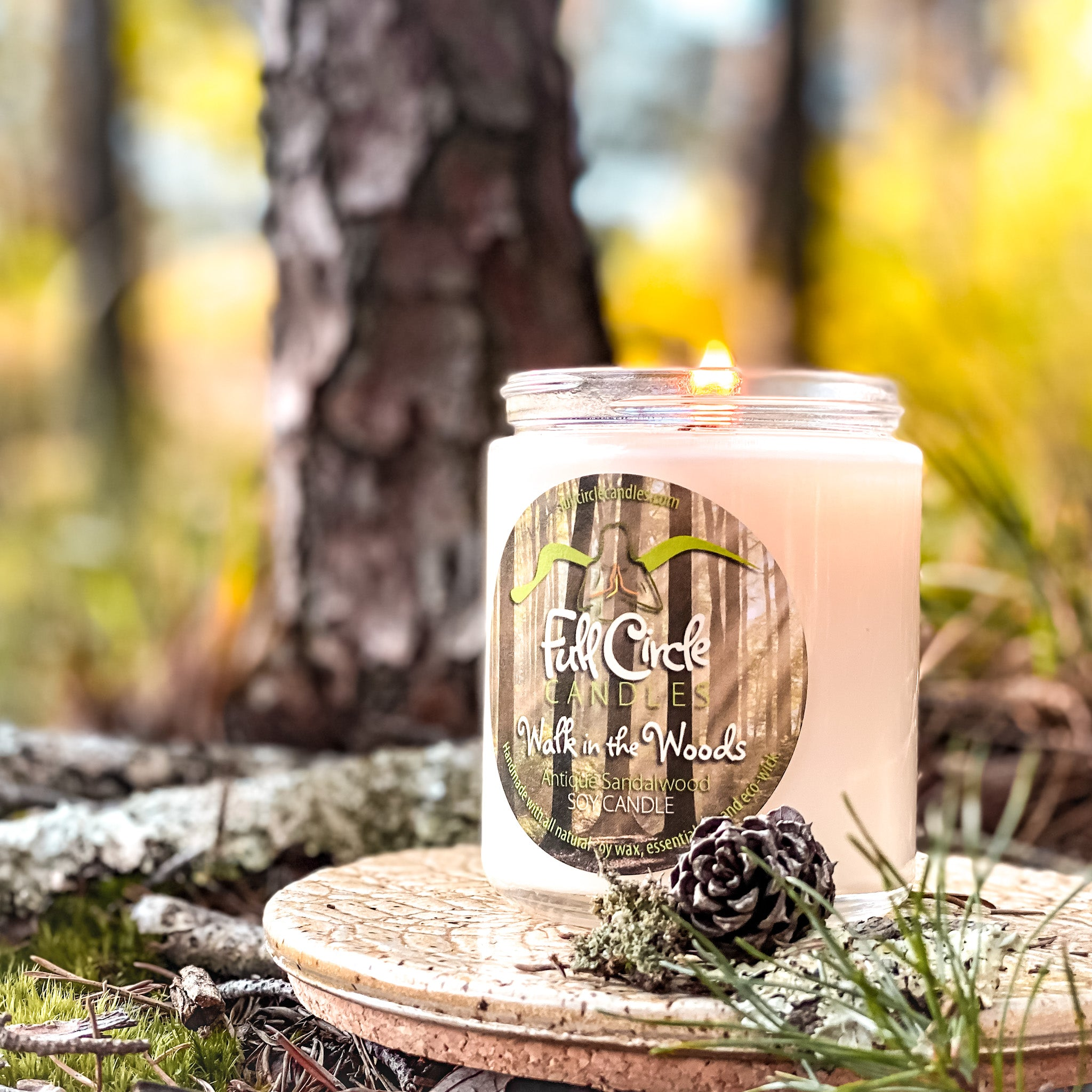 Butterscotch Vanilla Harry Potter Soy Candle | Full Circle Candles