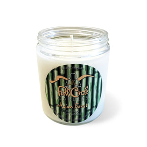 Full Circle Soy Candle Bamboo