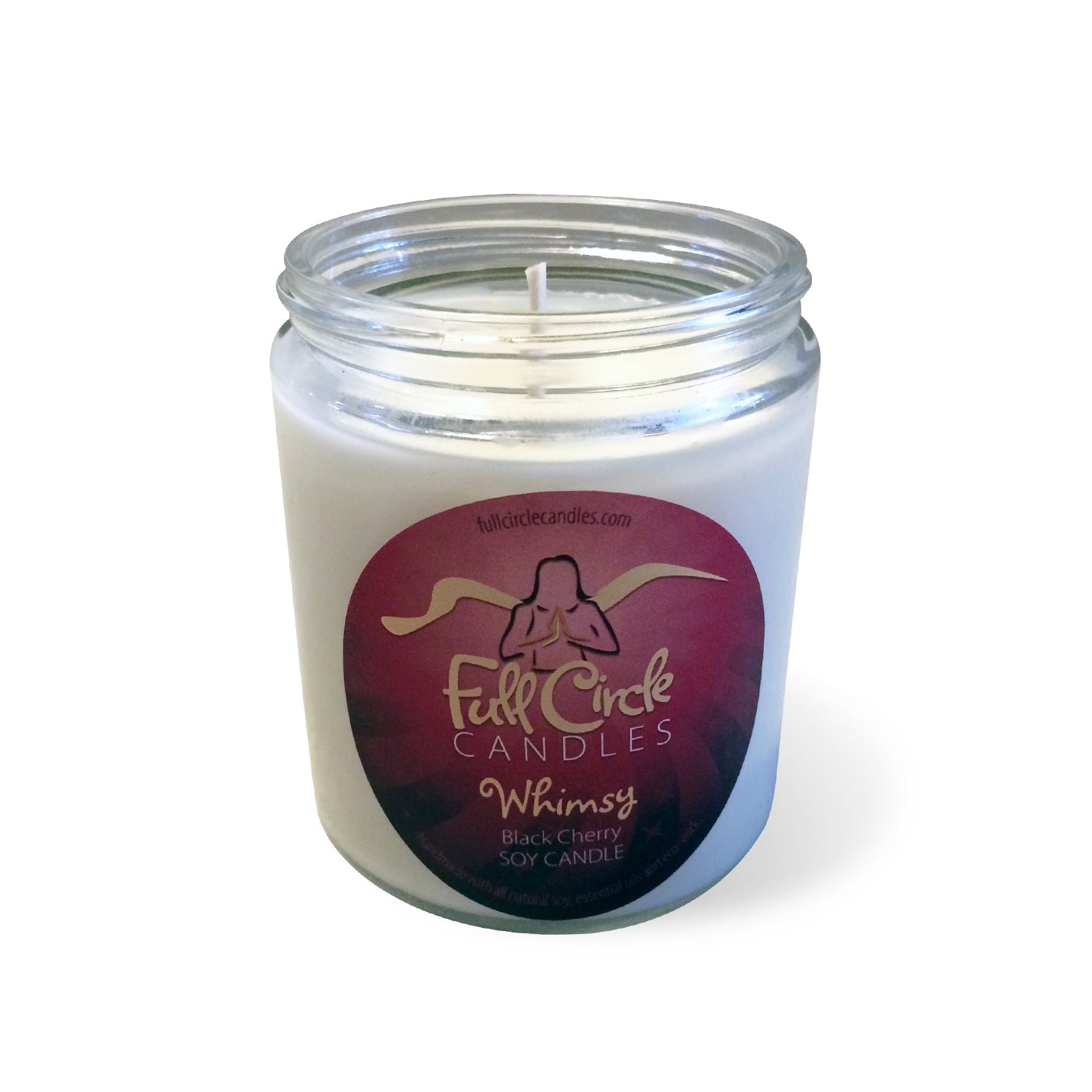 Full Circle Soy Candle Black Cherry
