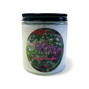 Floral Soy Candle