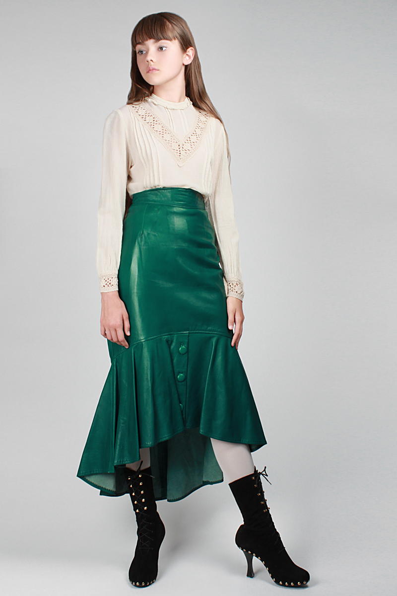 1980s Emerald City Skirt