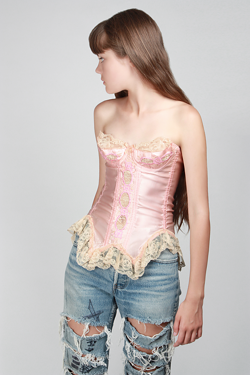 1980s At First Blush Bustier