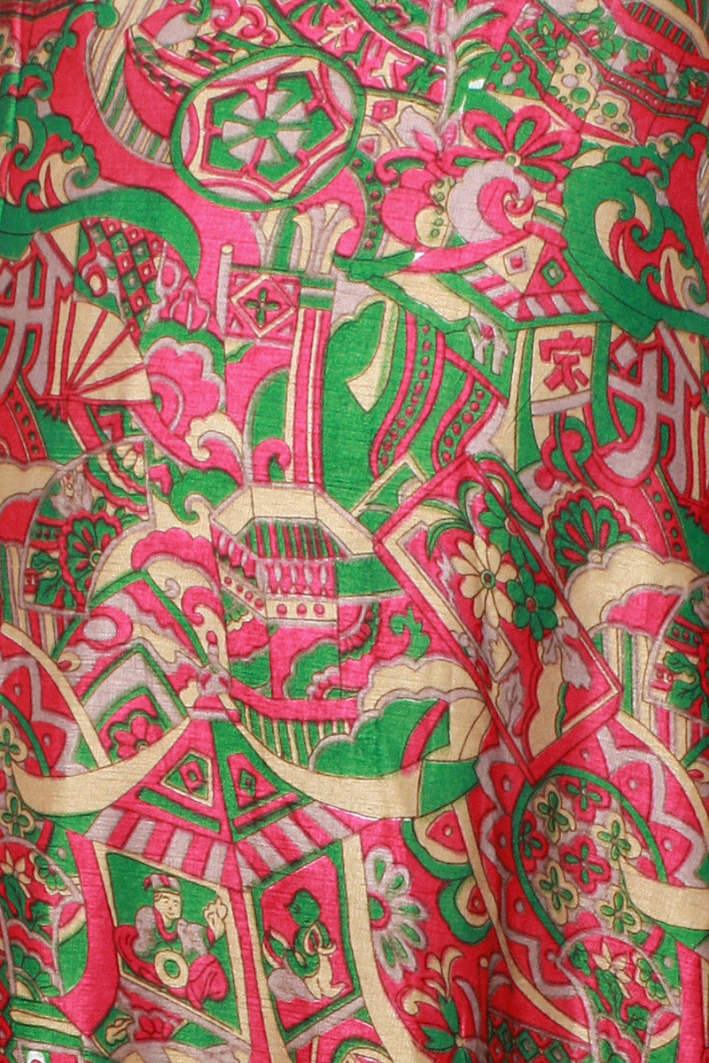 1970s Silk Road Skirt
