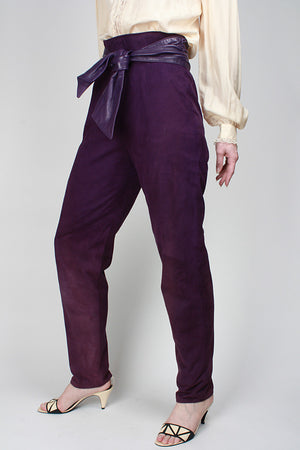 1980s PURPLE RAIN TROUSER
