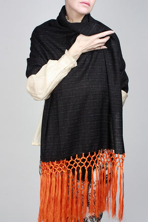 Orange Crush Shawl