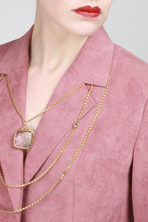 1960s Gilded Necklace