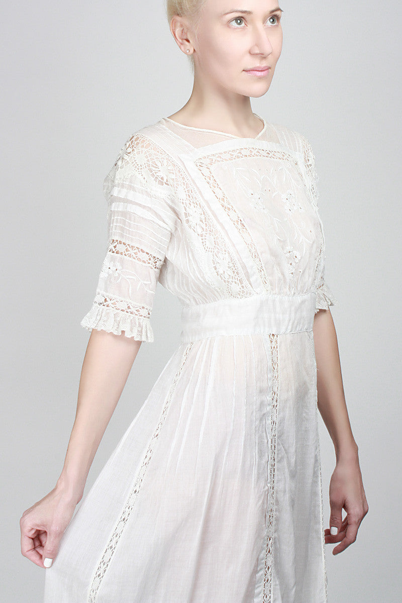1900s Age Of Innocence Dress
