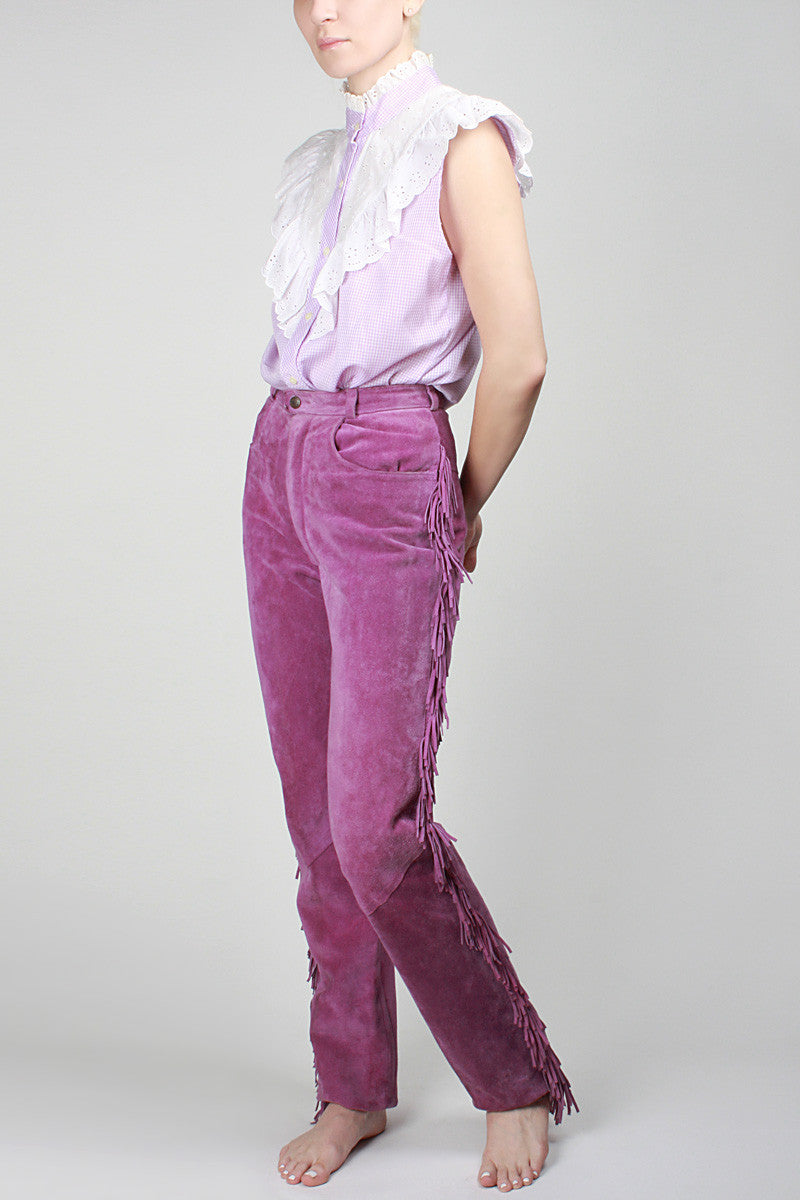 1970s Hills Of Lavender Pants