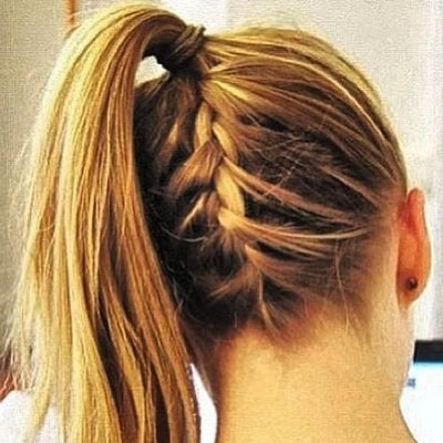 Buy Beauty Products Upside Down Braid Pony