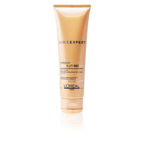 L'Oreal Professional Serie Expert Absolut Repair Lipidium Reconstructing and Protecting Blow-Dry Cream 4.2 Oz / 125 ml | WE PRICE MATCH™ - beauty-price-match