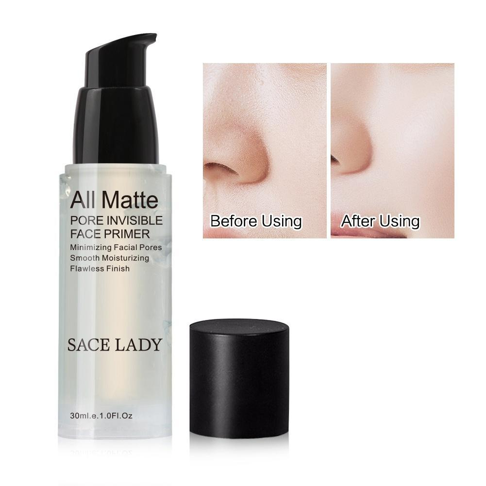 Pore Invisible Ultra-smooth Face Primer Makeup Base Gel Smooth Silky Soft Skin (Size: 30 ml, Color: Transparent) - beauty-price-match
