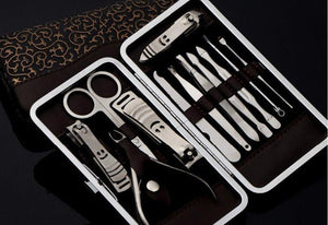 New Manicure Set Manicure Pedicure Set Nail Clippers Scissors Grooming Kit Set - beauty-price-match