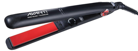 "Avanti Nano-Silver Tourmaline Ceramic Flat Iron (1"" inch) - A-ST3 