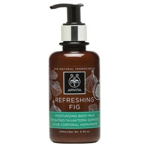 Refreshing Fig Moisturizing Body Milk-200ml/6.38oz, by Apivita - beauty-price-match