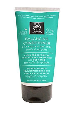 Apivita - Balancing Conditioner with Nettle & Propolis (Oily Roots & Dry Ends) - 150ml-5.29oz | Nettle and Propolis conditioner