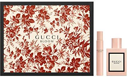 gucci bloom for her rollerball collection set