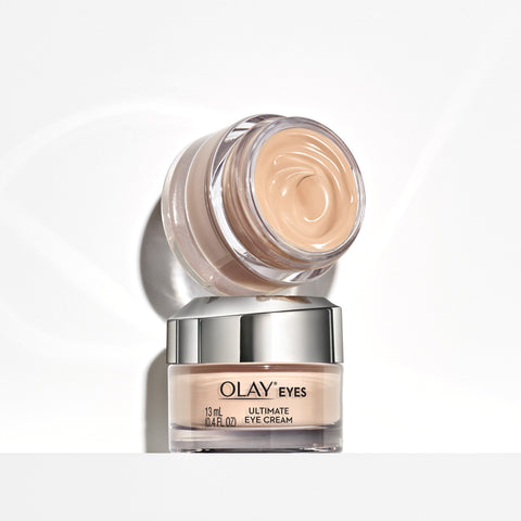 Olay Ultimate Eye Cream for Wrinkles, Puffy Eyes + Dark Circles, 0.4 fl oz - beauty-price-match